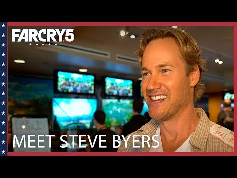 Far Cry 5: Meet Steve Byers, voice of Nick Rye  Ubisoft NA