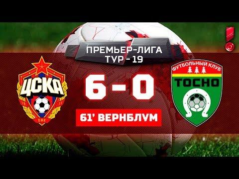 ЦСКА - Тосно 6:0 видео