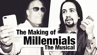 "Lin-Manuel Miranda & Dwayne ""The Rock"" Johnson on The Making of ""Millennials: The Musical"""