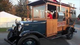 Driving Onto the Show Field 1, 2017 AACA Fall Meet Hershey