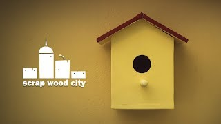 How to make a wooden DIY birdhouse