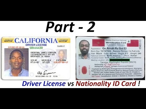 Driver License Fraud: Indigenous Americans 'Not' required to have Colonial Driver Licenses (Pt. 2) !
