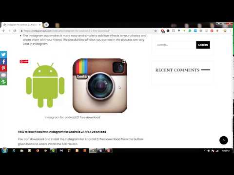 How To Download Instagram For Android 2.1 Free Download Full & Free
