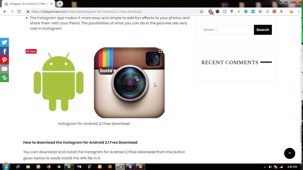 Instagram for android 2 1 free download Latest Version
