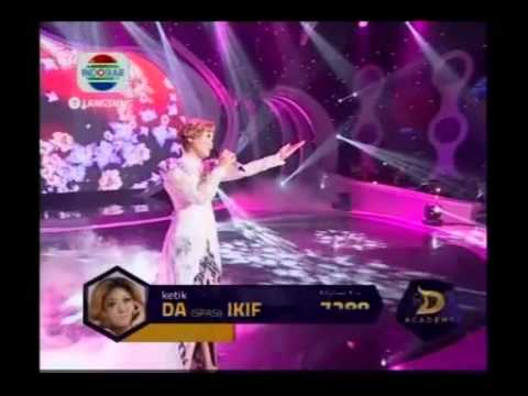 Ikif - Bunga Pengantin - Konser Final 6 Besar - DAcademy Indonesia