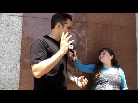 Morgan s Masters of Illusion Grand Illusionist Michael Grandinetti and Robyn Cohen