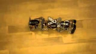 Самодельный робот-гусеница