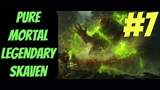 Pure Mortal Legendary Skaven Campaign #7 (Queek) -- Total War: Warhammer 2