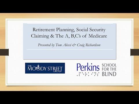 Perkins School for the Blind Webinar