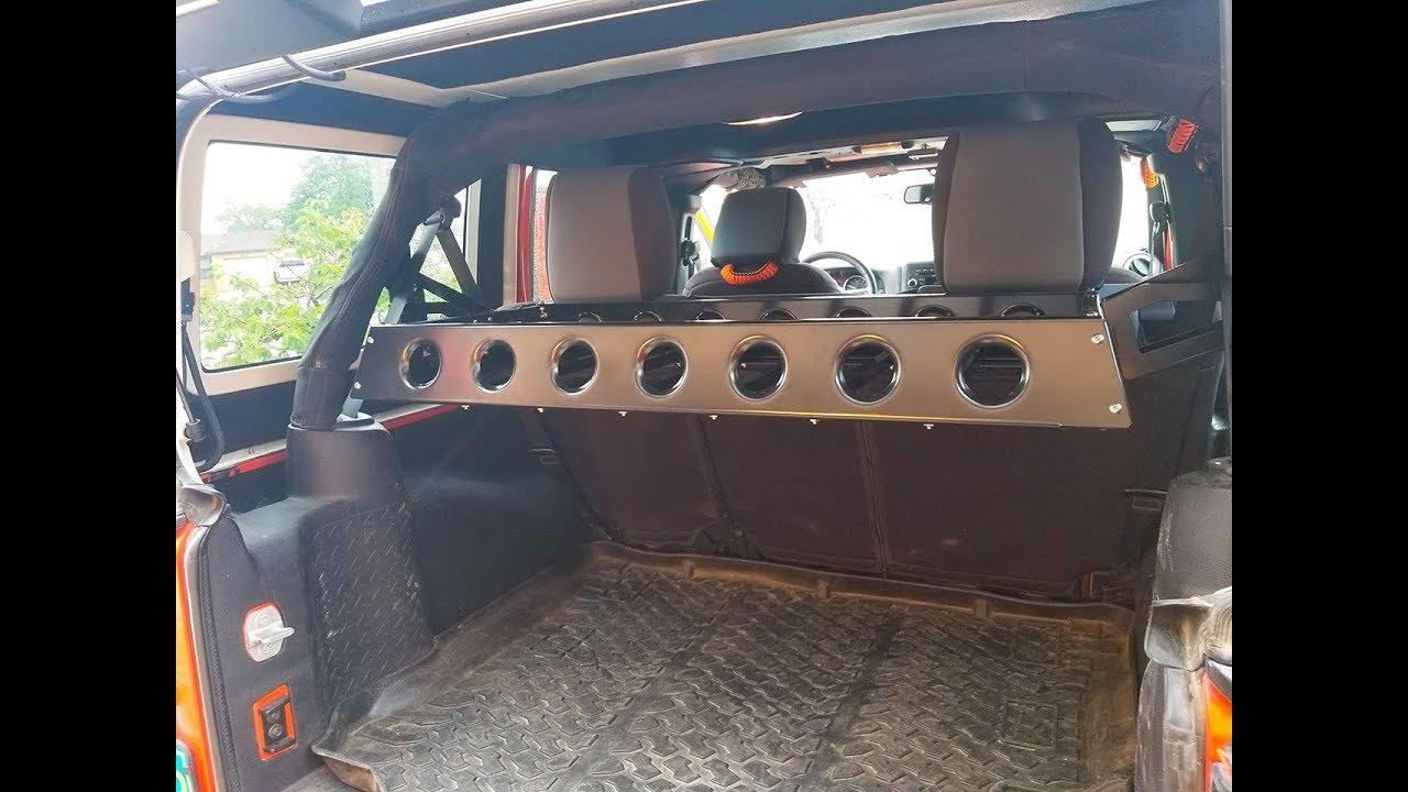 Jeep Jk Rear Cargo Basket Install Review Rustys Off Road Jeep Jk