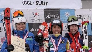 全日本スキー選手権女子大回転 長谷川V、安藤は2位(2017/03/24)北海道新聞