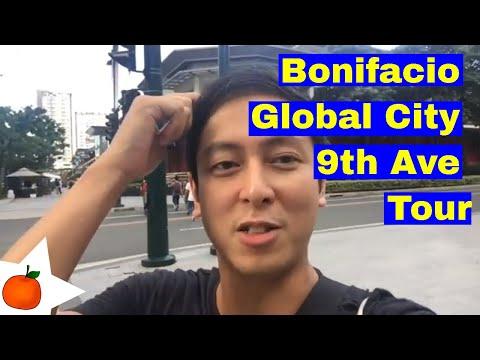 Bonifacio Global City 9th Ave Tour