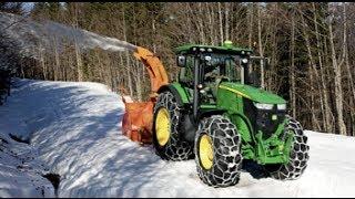 tracteur fraiseuse