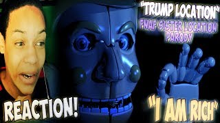 "FNAF ""TRUMP LOCATION"" TRAILER REACTION 