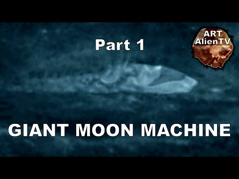 #GIANT MOON MINING MACHINE ? Lunar Base Structures 2. Apollo 8 UFO ? ArtAlienTV