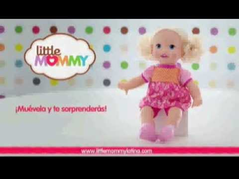 Comercial Mattel Latino Little Mommy Mu 241 Eca Cuenta Conmigo