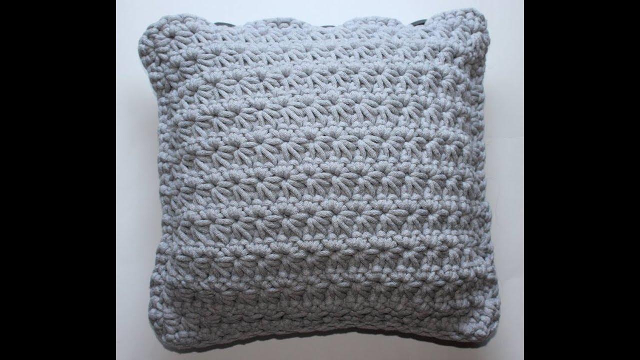 Jak Wykonać Poduszkę Na Szydełku ścieg Gwiazdka Pillow On Crochet