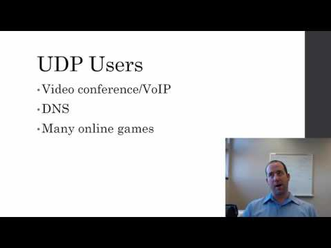 TCP and UDP Applications