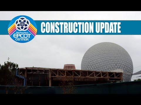 Epcot Construction Update Future World Walk Through - Live 1080p