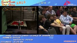 Summer Games Done Quick 2014 - Part 63 - Castlevania: Legacy of Darkness