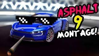 Asphalt 9 Funny Moments Compilation!