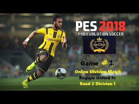 Pes 18 My Club Starter Balls Pack & Online Division Match, Div 12 Game 1 Game play Regigie United Fc