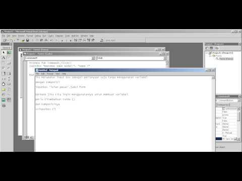 Cara Menggunakan Input Box Di Visual Basic