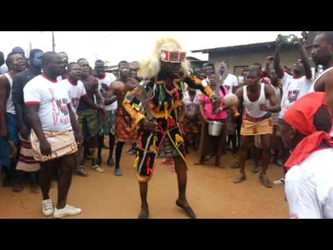 African Dancing at the Generations Festival, Abidjan, Ivory Coast 2015