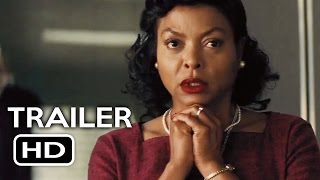 Hidden Figures Official Trailer #2 (2017) Taraji P. Henson, Janelle Monáe Drama Movie HD