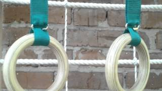 Шведская стенка с гладиаторской сеткой(Изготавливаем шведские стенки в различных вариантах и любой комплектации, закажите удобные для вас размер..., 2015-10-29T19:31:23.000Z)
