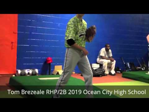 Tom Brezeale RHP/2B 2019 Ocean City High School