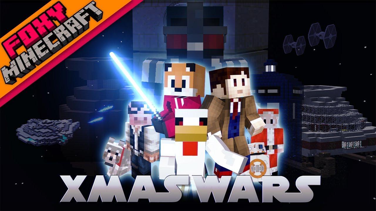 FoxyNoTail com | Video: Minecraft | XMAS WARS - THE MOVIE