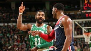 Kyrie Irving vs John Wall NBA Christmas Wizards vs Celtics 2017-18 Season