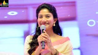 Sai Pallavi Speech at MCA Movie Pre Release Function | Latest Telugu Movies | Sri Balaji Video