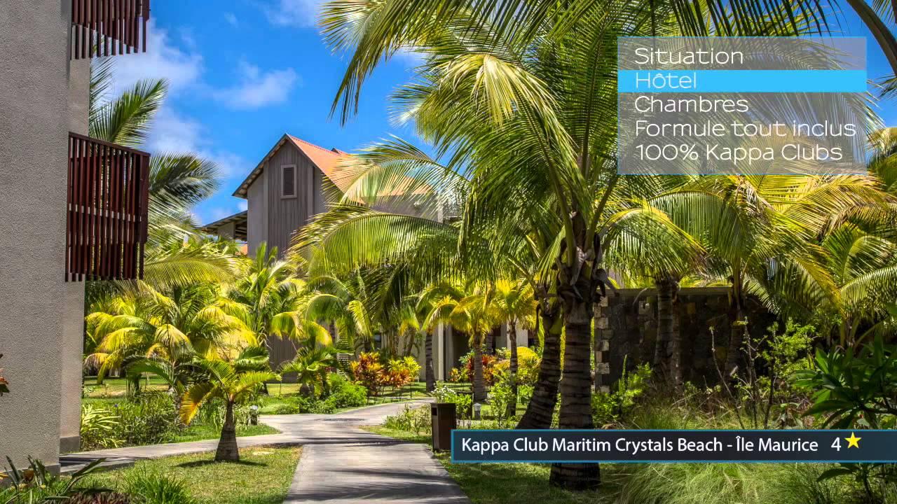 ZOOM SUR... LE KAPPA CLUB MARITIM CRYSTALS BEACH 4* - YouTube
