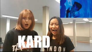 K.A.R.D - Don't Recall M/V REACTION with Loulou and Angii