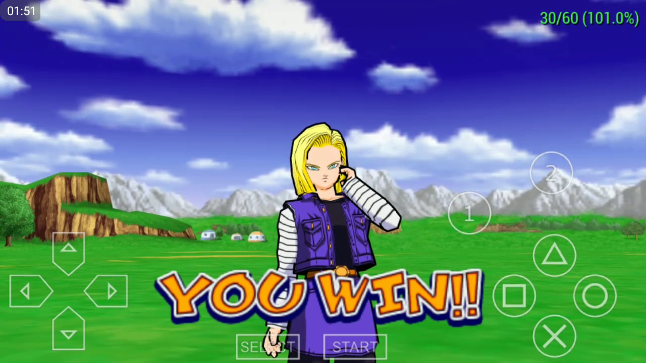 ANDROID SNAP DRAGON 430(ppsspp) Dragon Ball 2/Another Road