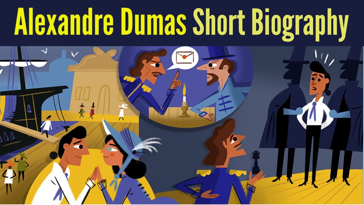 Google Doodle celebrates French writer Alexandre Dumas