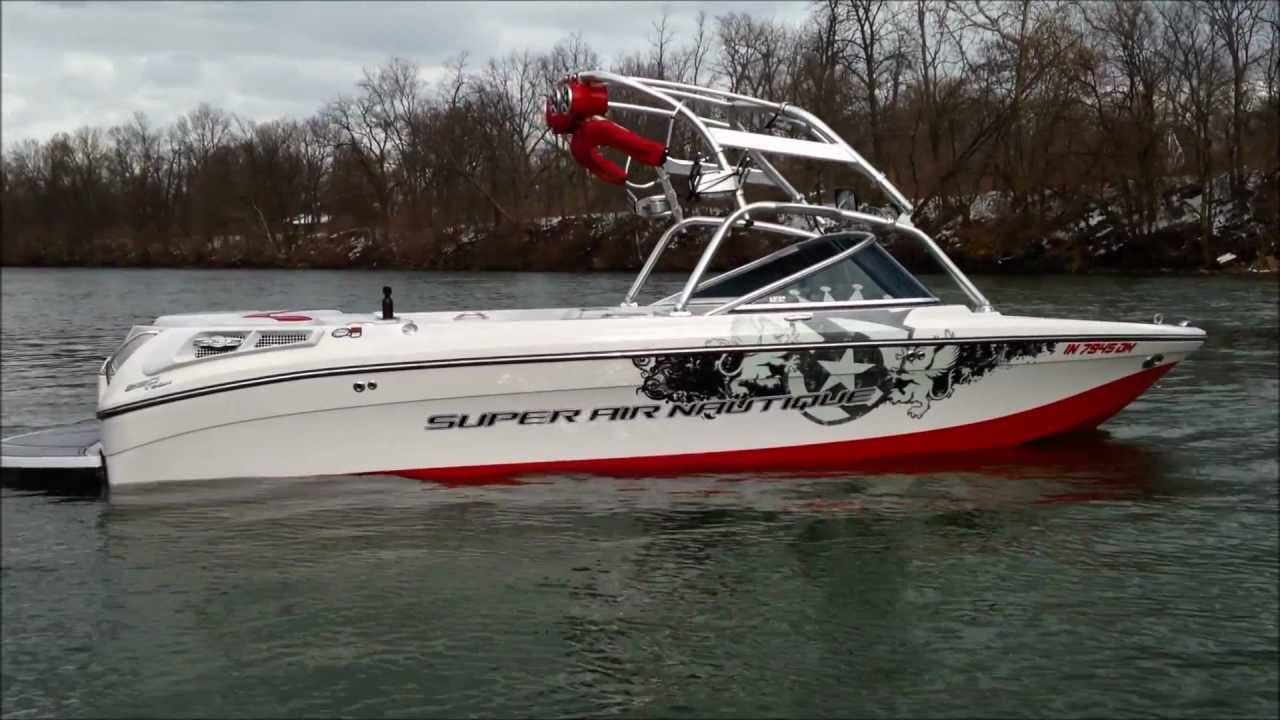 2006 Super Air Nautique 220 Team Edition Youtube