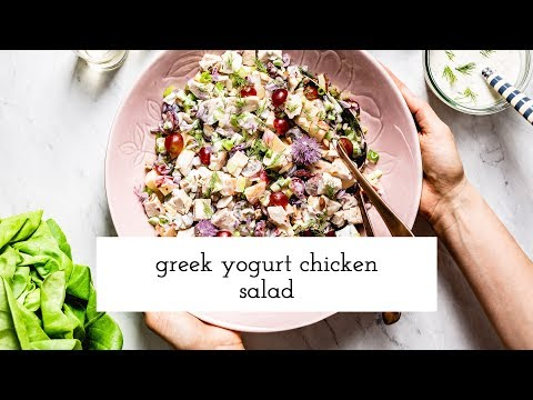 Avocado Greek Yogurt Chicken Salad
