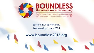 Boundless 2015: Session 1 - A Joyful Army (English)
