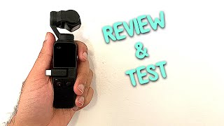 DJI Osmo Pocket Unboxing/Review - 4K 60FPS Test Footage!