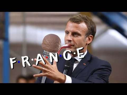 France,but it's Friends intro.