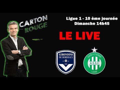 Bordeaux - ASSE Le Match Commenté En Live ⚽️🔥