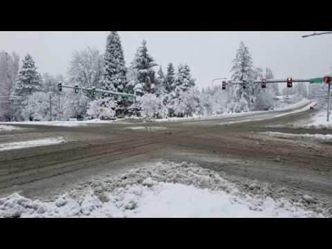 Seattle Washington Snow Storm 2/6/17