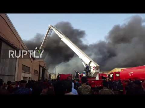 Iraq: Fire hits ballot warehouse ahead of vote recount
