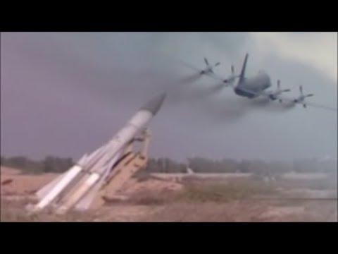 Scenario || Russian Military Aircraft Ilyushin IL-20 Hit By S-200 Missile.