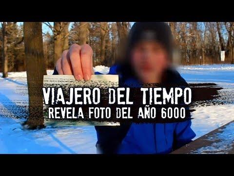 Viajero del tiempo revela foto del año 6000   VIDEOGRABACIÓN