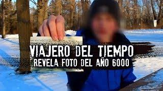 Viajero del tiempo revela foto del año 6000 | VIDEOGRABACIÓN