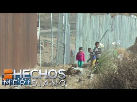 Pollero intentó pasar a 3 menores de edad por la frontera con EUA